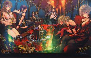 シェルノサージュ/ゲームの電撃 感謝祭2013/Wスエードクロスポスター/電撃Ver 画像