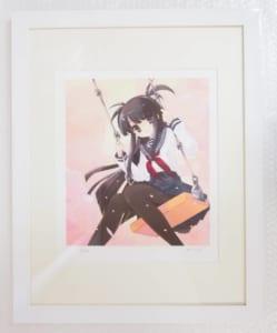 いとうのいぢ SAKURA少女 自筆サイン入 デジタル複製版画