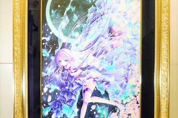 【版画】てぃんくる CE版 雪月華舞~夢現を高価買取させていただきました。